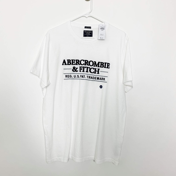 Abercrombie & Fitch Other - NWT Abercrombie & Fitch Embroidered Tee XL #2787